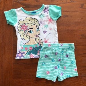 Disney Frozen Elsa Pajama Set